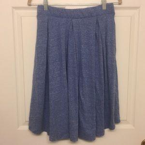 Blue Swing T-Shirt Skirt Ι LulaRoe Ι Small